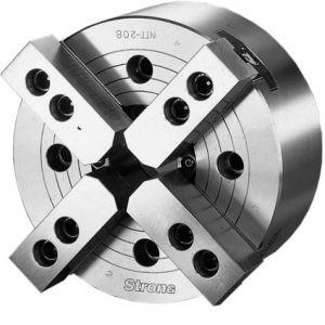 Silová sklíčidla, čtyřčelisťová DIN 55026, s otvorem