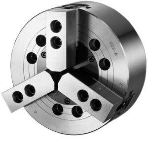 Silová sklíčidla, tříčelisťová DIN 55026,s otvorem