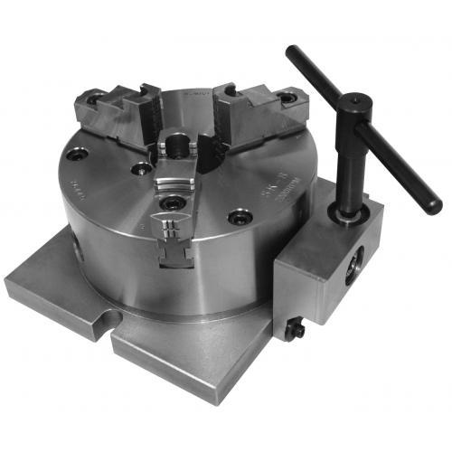 Tříčelisťové soustružnické sklíčidlo 200 mm, vertikální pohon