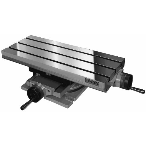 Křížový stůl otočný se 2 osami, typ MG, velikost 0