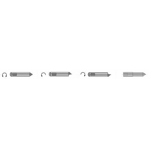 Unášecí kolík (kusový) typu S2 pro čelní unašeč typu B