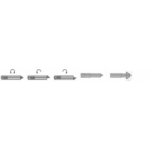 Unášecí kolík (kusový) typu S3 pro čelní unašeč typu C