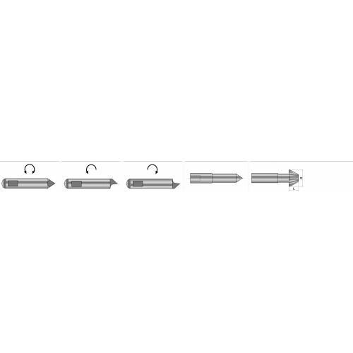 Unášecí kolík (kusový) typu S2 pro čelní unašeč typu D