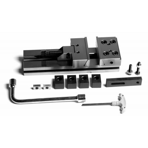 Přesný strojní svěrák, mechanický, JW 125, kap. 150