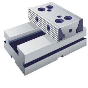 Dvoudílný svěrák, dvojitá pevná část 100 mm