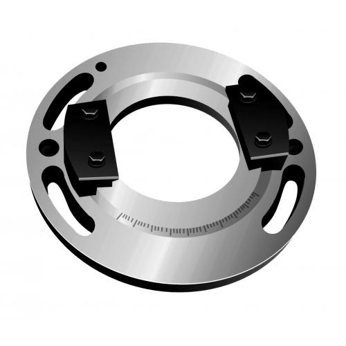 Otočná základna pro CNC svěrák JW 100