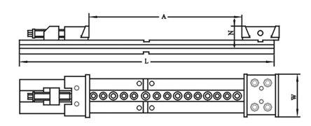 Dvojitý středicí svěrák, JW 200, kap. 2 x 150