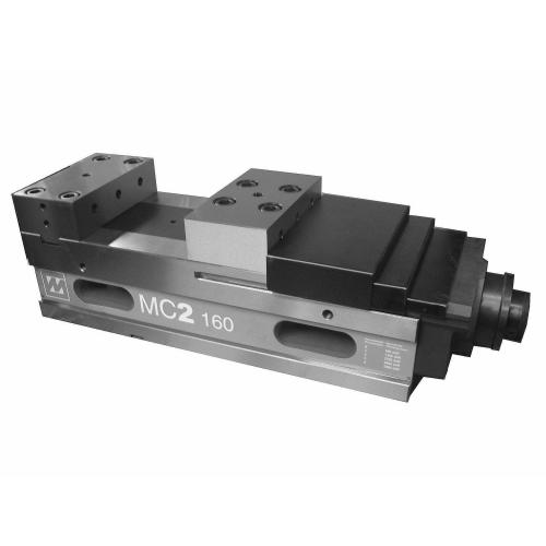 Silový svěrák McFix 2, šířka čelistí 125 x 208 mm