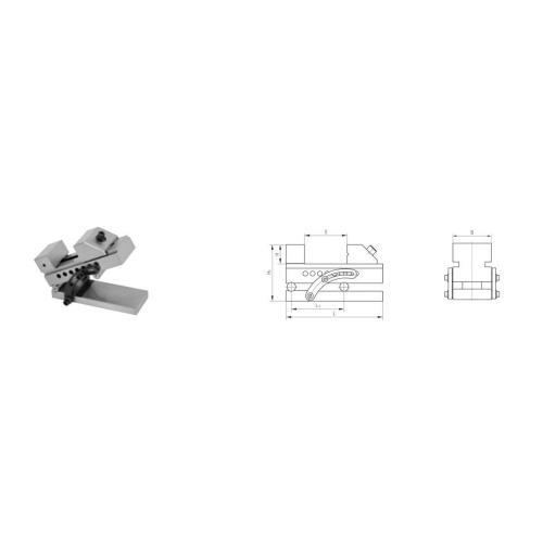 Sinusový svěrák, standardní typ TMV-SA 63
