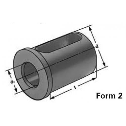 Redukční pouzdro bez drážky Ø 25 x 16