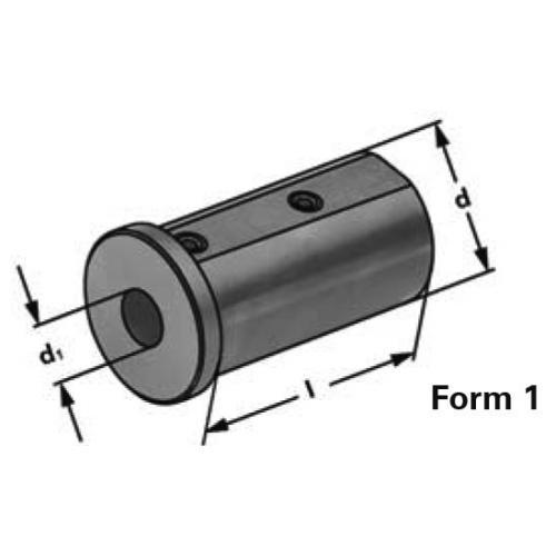 Redukční pouzdro bez drážky Ø 40 x 12