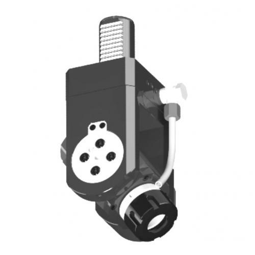 Nástroj spohonem, DIN 5480, nastavitelný, VDI 30, ER 16, IC