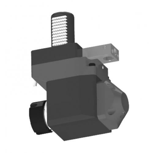 Nástroj spohonem, DIN 5482, úhlový, odsazený, pravý, VDI 30, ER 25, IC