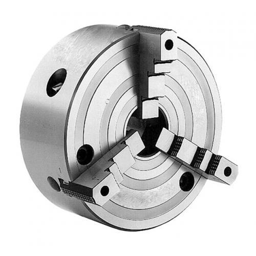 Tříčelisťová sklíčidla sklínovou tyčí 630 mm, ocel, válcové upnutí, se základními čelistmi