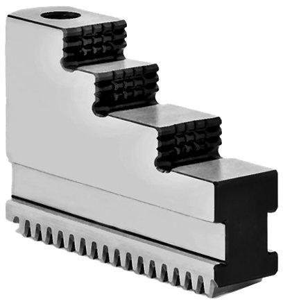 Tvrdá oboustranná čelist pro sklíčidla sklínovou tyčí 125 mm