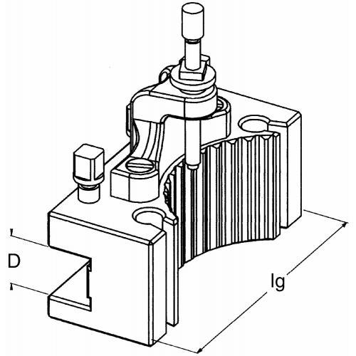 Držák nástrojů D1D 63 180