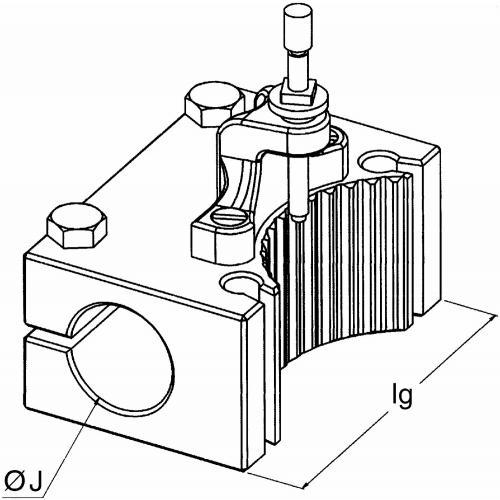 Držák pouzdra BJ 40 120