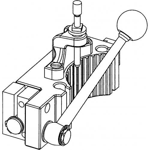 Závitořezné zařízení pro vnější závit CFE