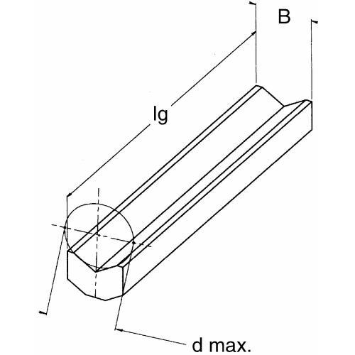 Hranol D2P 45 220