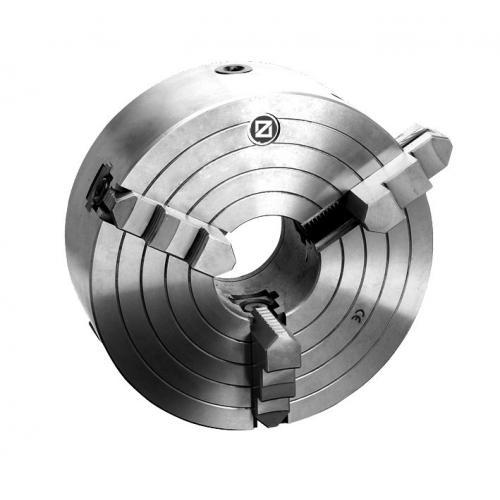 Tříčelisťové soustružnické sklíčidlo Wescott 200 mm, litina, válcové upnutí, jednodílné čelisti