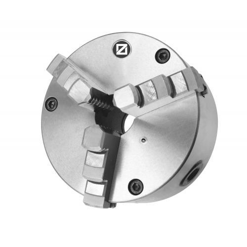 """Tříčelisťové sklíčidlo 250 mm, ocel, DIN 55026-6"""", jednodílné čelisti, kuželové upnutí"""