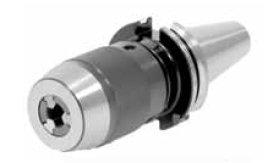Vrtací NC sklíčidlo shákovým klíčem SK 40, DIN 69871, 1–13 mm