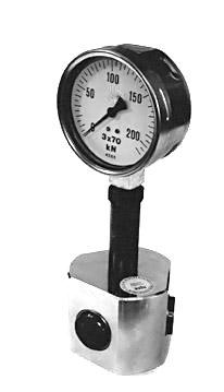 Měřič upínací síly pro tříčelisťová sklíčidla 400 kN